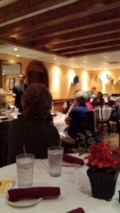 Glenn Hegar, candidate for Texas Comptroller speaks to Memorial West Republican Women