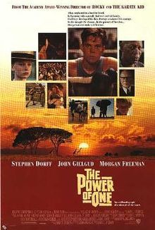 The Power of One- Starring: Stephen Dorff and Armin Mueller-Stahl (March 27, 1992)