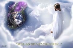 """""""When Jesus steps out on a cloud to call His children, the dead in Christ shall rise to meet Him in the air; but then those that remain will be quickly changed, at the midnight cry when Jesus comes again."""""""