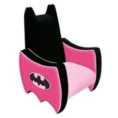 Amazon.com: Warner Brothers Icon Chair, Batman: Furniture & Decor