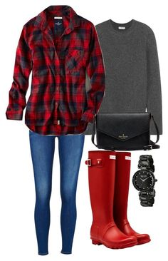 """Untitled #2"" by brooksied1775 on Polyvore featuring Hunter, Balenciaga and American Eagle Outfitters"