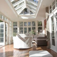 traditional family room by Conservatory Craftsmen