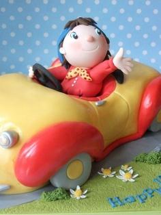 Noddy and Car