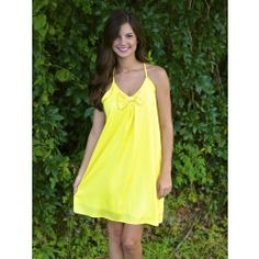 Come On Get Happy Dress-Sunshine - $42.00 Red Dress Boutique