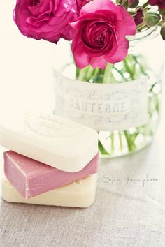 Flowers and soaps...