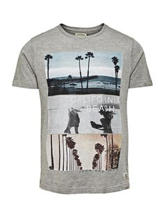 ISLAND TEE SS CREW NECK ORIG - Jack & Jones