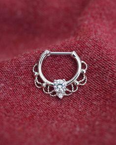 septum ring septum clicker septum jewelry septum by TingTingStory
