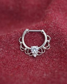 septum ring septum clicker septum jewelry septum by TingTingStory