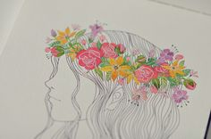 I've fallen in love with this artist, Oana Befort. Check her out.