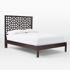 Morocco Bed - Chocolate #westelm