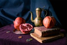 still life   by kosachyov Still Life Photography, Be Still, Renaissance, Original Art, Fruit, Inspiration, Painting, Sketch, Biblical Inspiration