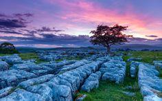 limestone-pavement-yorkshire-sunset - Image: Getty Images