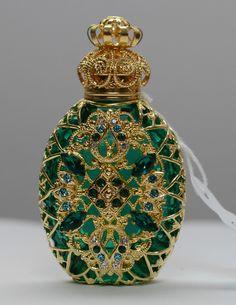 Vintage Filigree Perfume Bottle