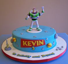 Buzz Lightyear by cakespace - Beth (Chantilly Cake Designs), via Flickr