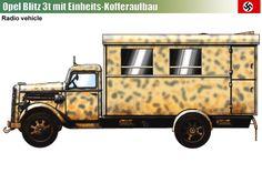 Opel Blitz 3-ton TypS mit Einheits-Kofferaufbau