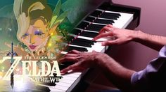 The Legend of Zelda: Breath of the Wild - Fairy Fountain - Piano