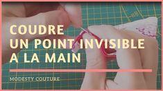 Comment coudre un point invisible à la main
