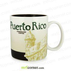SM122 16oz Starbucks Puerto Rico Global Icon City Mug
