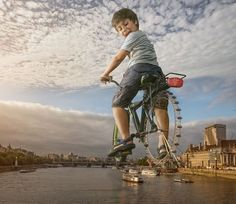 """Just for fun and for sure not one of my best works, but I like the idea. The engine behind the London Eye ;) btw... the next workshop will be in London. If you are interested, please take a look here at <a href=""""http://www.traintocreate.com/events/adrian-sommeling-composite-series-london-2015/"""">train to create</a>"""