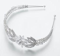 Crystal Flower Wedding Headband