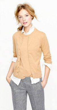 Best New Work Clothes for Fall: J.Crew Jackie Cardigan