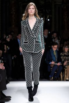 Top Trends From Fall 2012The Pattern: Fenced In  Intricate latticework sparked the pattern, print and embroidery designs in collections from Balmain to Rodarte.  Balmain