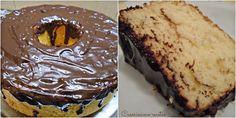 Torta chiffon de coco esponjosisísima y recubierta de chocolate