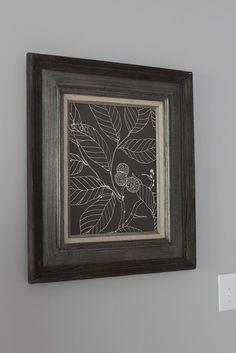 Framed Fabric Tutorial