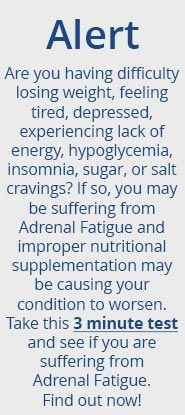 Not sure if you have Adrenal Fatigue? Write to us today!