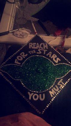 My Star Wars inspired Graduation cap!