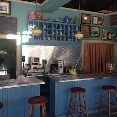 Instagram media by kimleereynolds - Luke's Diner is coming together…