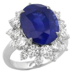 7.75ct Ceylon Sapphire 2.50ct Diamond 18k White Gold Engagement Ring - See more at: http://www.newyorkestatejewelry.com/engagement-rings/7.75ct-ceylon-sapphire-diamond-18k-white-gold-engagement-ring/18960/3/item#sthash.GdXzuh7O.dpuf