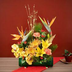 モダンなお正月飾り&おしゃれな迎春フラワー|通販ギフト