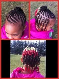 Check out these cute little girls natural hairstyles… | Black Women Natural Hairstyles