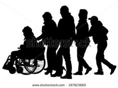 Find Silhouettes Wheelchair Crowds People stock images in HD and millions of other royalty-free stock photos, illustrations and vectors in the Shutterstock collection. Thousands of new, high-quality pictures added every day. Neuroscience, Acceptance, Perception, Crowd, Novels, Royalty Free Stock Photos, Medical, Robotics, Sheffield