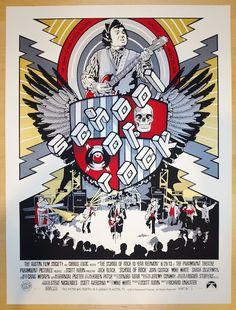 "2013 ""School of Rock"" - Silkscreen Movie Poster by NE"