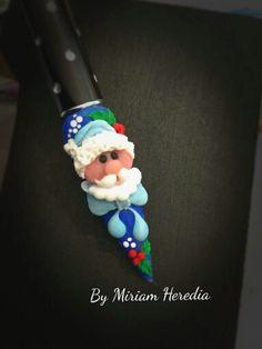 . Xmas Nails, 3d Nails, Holiday Nails, Acrylic Nail Art, 3d Nail Art, Nail Arts, Christmas Nail Designs, Christmas Nail Art, Nail Art Noel
