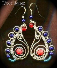 WireWorkers Guild: PAISLEY TUTORIAL For pendants or earrings.