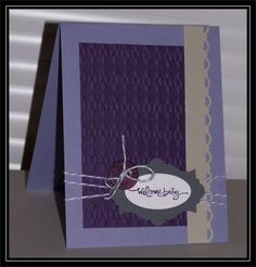 CAS FTL baby by TrishG - Cards and Paper Crafts at Splitcoaststampers