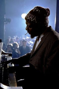 New York, New York. Thelonious Monk performing at the Newport Jazz Festival (better known as the JVC Jazz Festival since in New York City. Jazz Artists, Jazz Musicians, Smooth Jazz, Arte Jazz, Newport Jazz Festival, Ville New York, Thelonious Monk, Classic Jazz, Miles Davis