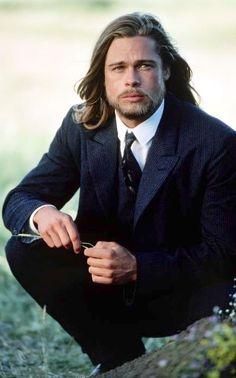 Legends of the Fall || Photo 1 in Colour, Brad Pitt as Tristan Ludlow. I have died and gone to heaven.