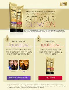 SOPHISTICATEDSIMPLE.COM: FREEBIE ALERT! FREE Full Size Sample Suave Visible Glow!