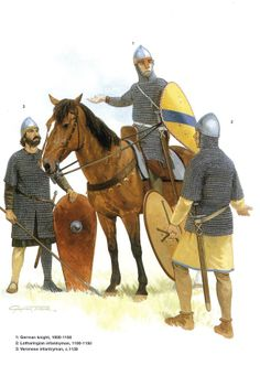 German Medieval Armies 1000–1300 - 11th and 12th centuries. Osprey Publishing
