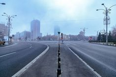 Bucureștiul doarme de sărbători ca un colos post-sovietic.