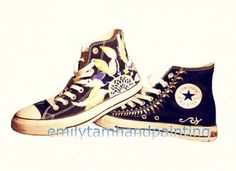 Dreamcatcher Sneakers Dream Catcher Customizing High-top Painted
