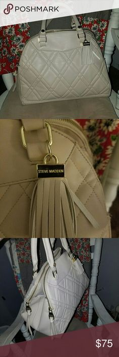 Steve Madden Dome bag Pre-loved but in great condition Steve Madden Dome that real leather Steve Madden Bags
