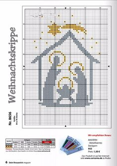 Cross Stitch Christmas Cards, Xmas Cross Stitch, Cross Stitch Bookmarks, Counted Cross Stitch Patterns, Cross Stitch Charts, Cross Stitch Designs, Cross Stitching, Cross Stitch Embroidery, Christmas Cross