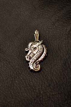 Epona's horse pendant 925 sterling silver jewelry by CorvidAna