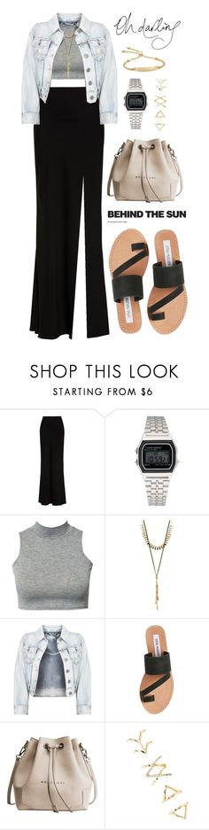 """""""300"""" by anadutra ❤ liked on Polyvore featuring Alexander McQueen, Softech, Club L, Lucky Brand, Steve Madden, Forever 21 and Monica Vinader"""