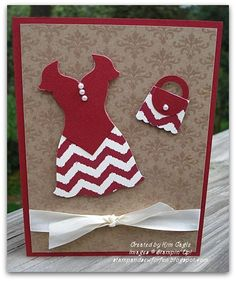 Stamp and Sew For Fun - Dress UP Framelits